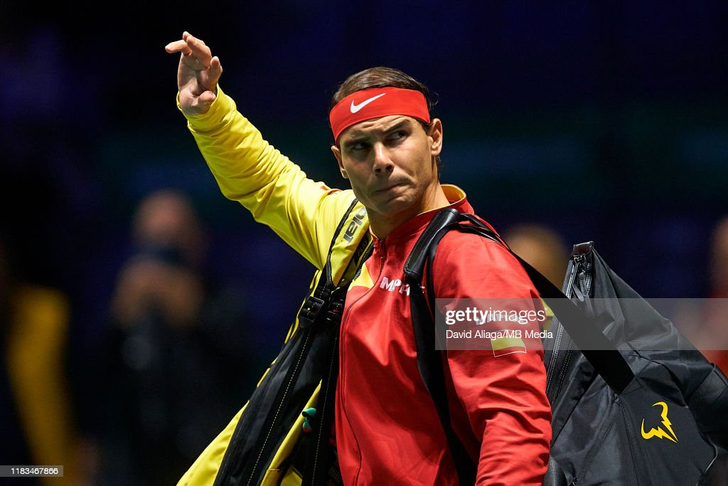 2019 Davis Cup - Day Two : News Photo
