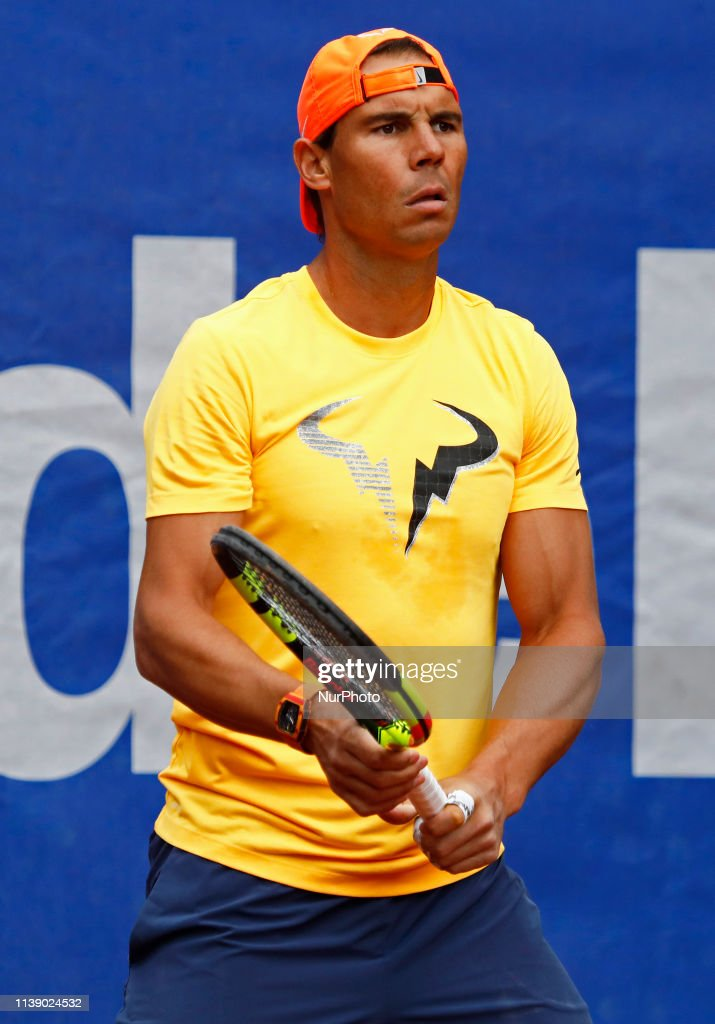 ESP: Nadal Training - Open Banc Sabadell