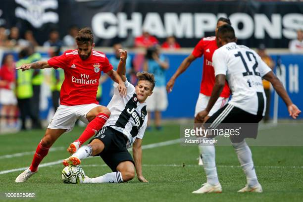 Rafa of Benfica battles for the ball with Nicolo Fagioli of Juventus during the International Champions Cup 2018 match between Benfica and Juventus...