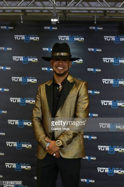 Rafa Pabon poses for media as part of 2019 Premios Tu Musica Urbano at Coliseo Jose M Agrelot on March 21 2019 in San Juan Puerto Rico