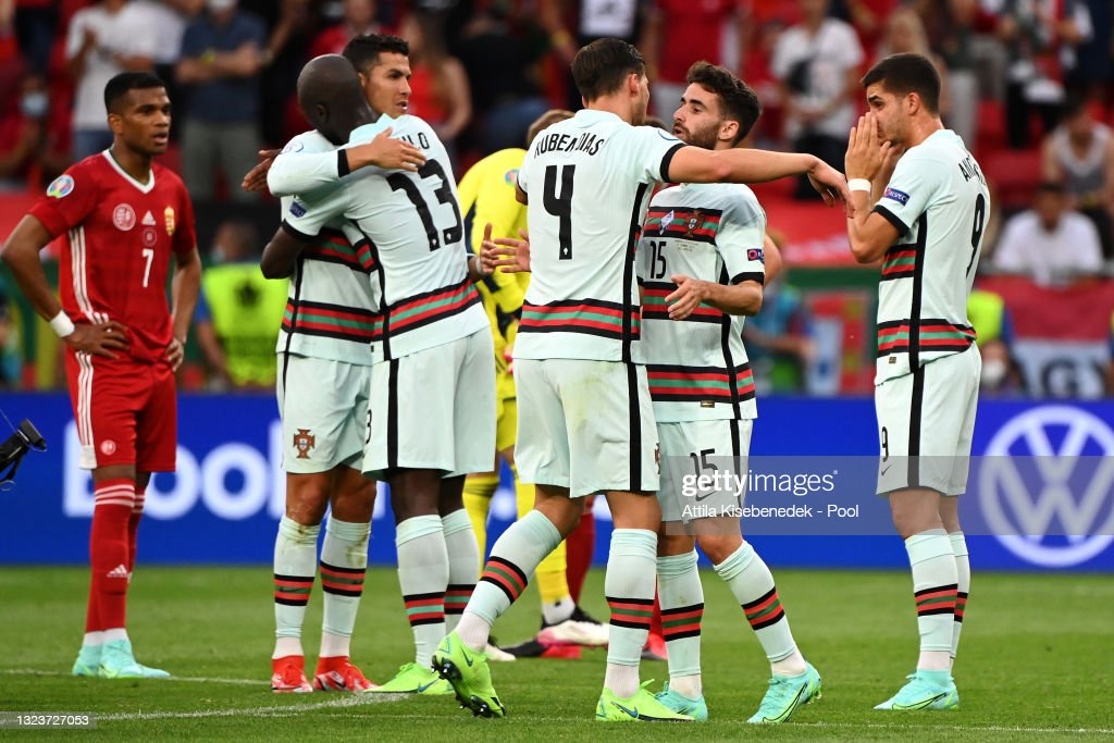 Hungary v Portugal - UEFA Euro 2020: Group F : Photo d'actualité