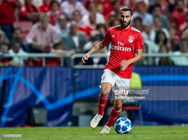 Rafa Silva of Benfica in action during the Group E match of the UEFA Champions League between SL Benfica and FC Bayern Muenchen at Estadio da Luz on...