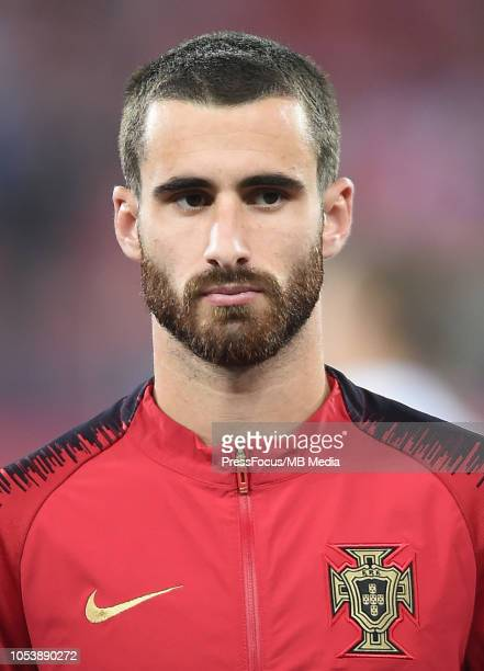 Rafa Silva of Portugal during the UEFA Nations League A group three match between Poland and Portugal at Silesian Stadium on October 11 2018 in...