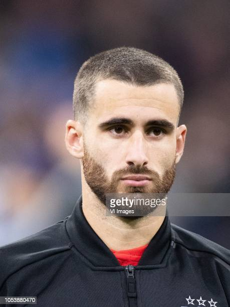 Rafa Silva of SL Benfica during the UEFA Champions League group E match between Ajax Amsterdam and SL Benfica at the Johan Cruijff Arena on October...