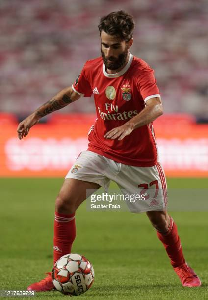 Rafa Silva of SL Benfica in action during the Liga NOS match between SL Benfica and CD Tondela at Estadio da Luz on June 4 2020 in Lisbon Portugal