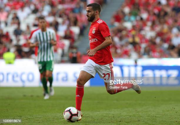Rafa Silva of SL Benfica in action during the Portuguese League Cup match between SL Benfica and Rio Ave FC at Estadio da Luz on September 15 2018 in...