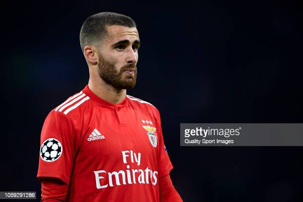 Rafa Silva of SL Benfica looks on during the Group E match of the UEFA Champions League between Ajax and SL Benfica at Johan Cruyff Arena on October...