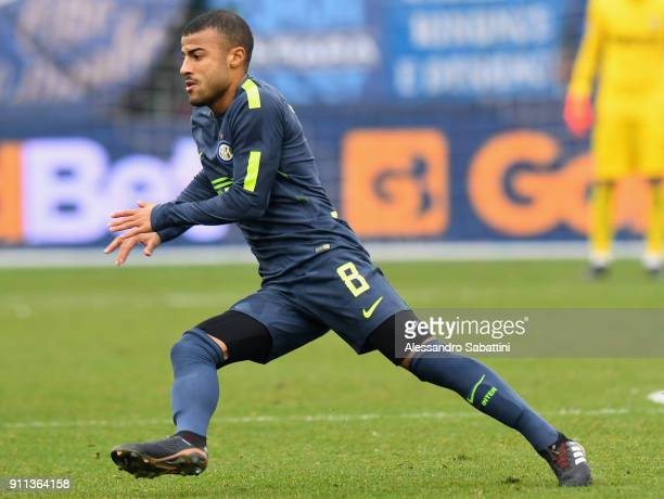 Rafael Alcântara do Nascimento Rafinha of FC Internazionale in action during the serie A match between Spal and FC Internazionale at Stadio Paolo...