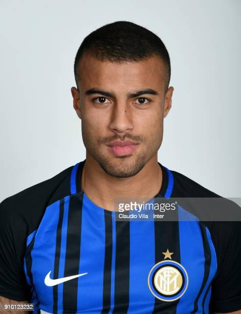 Rafael Alcântara do Nascimento Rafinha of FC Internazionale poses during the official portrait session at Appiano Gentile on January 25 2018 in Como...