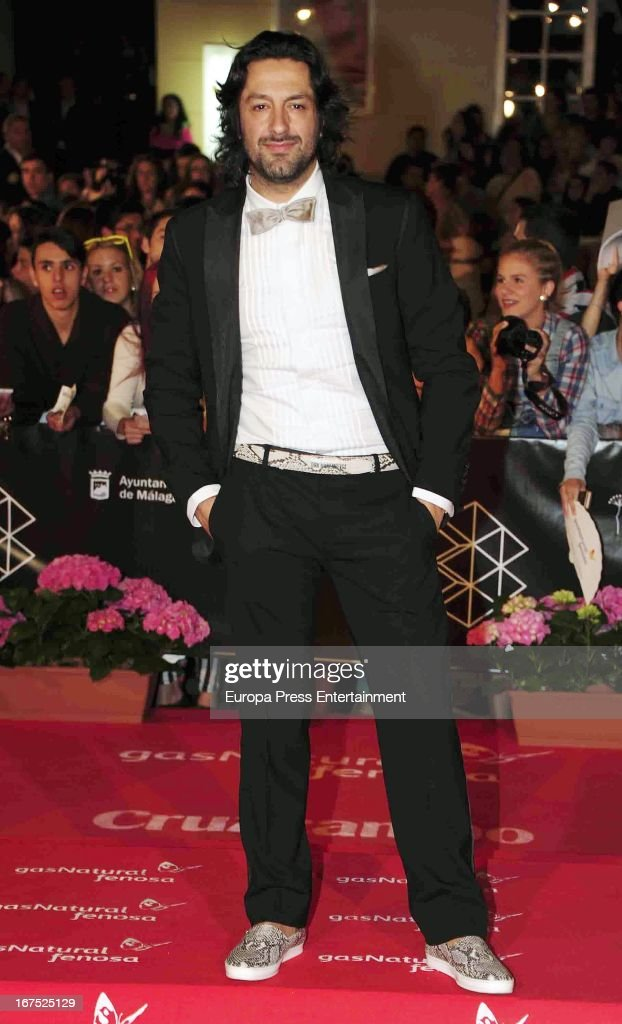 Rafael Amargo attends Malaga Film Festival 2013 on April 25, 2013 in Malaga, Spain.