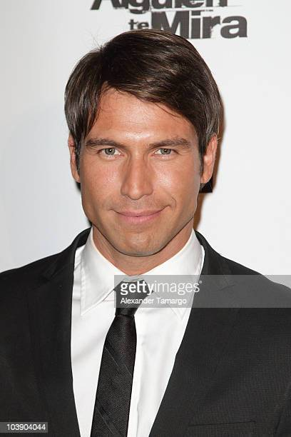 Rafael Amaya attends screening of Telemundo's Alguien Te Mira at The Biltmore Hotel on September 7 2010 in Coral Gables Florida