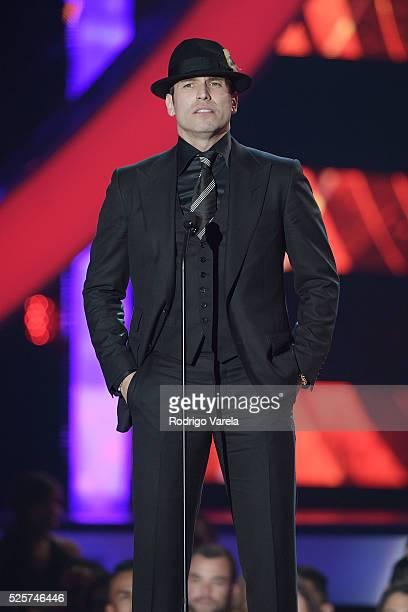 Rafael Amaya Nunez onstage at the Billboard Latin Music Awards at Bank United Center on April 28 2016 in Miami Florida