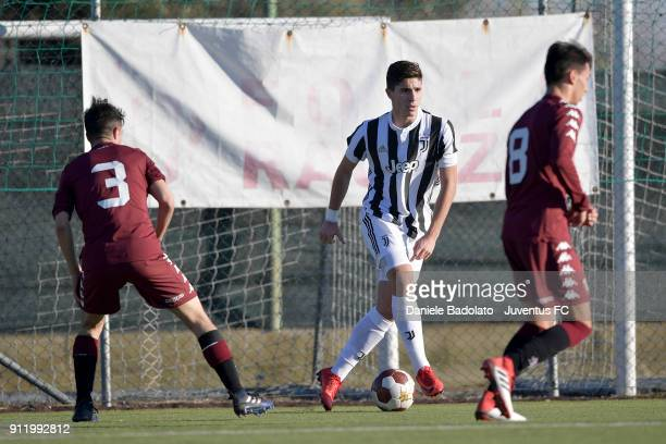 Rafael Bandeira De Fonseca during the U17 match between Torino FC and Juventus on January 28 2018 in Turin Italy