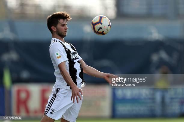 Rafael Bandeira of Juventus FC U19 inn action during the match between Empoli U19 and Juventus U19 on December 1 2018 in Empoli Italy