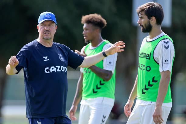 FL: Everton Pre-Season Training Camp