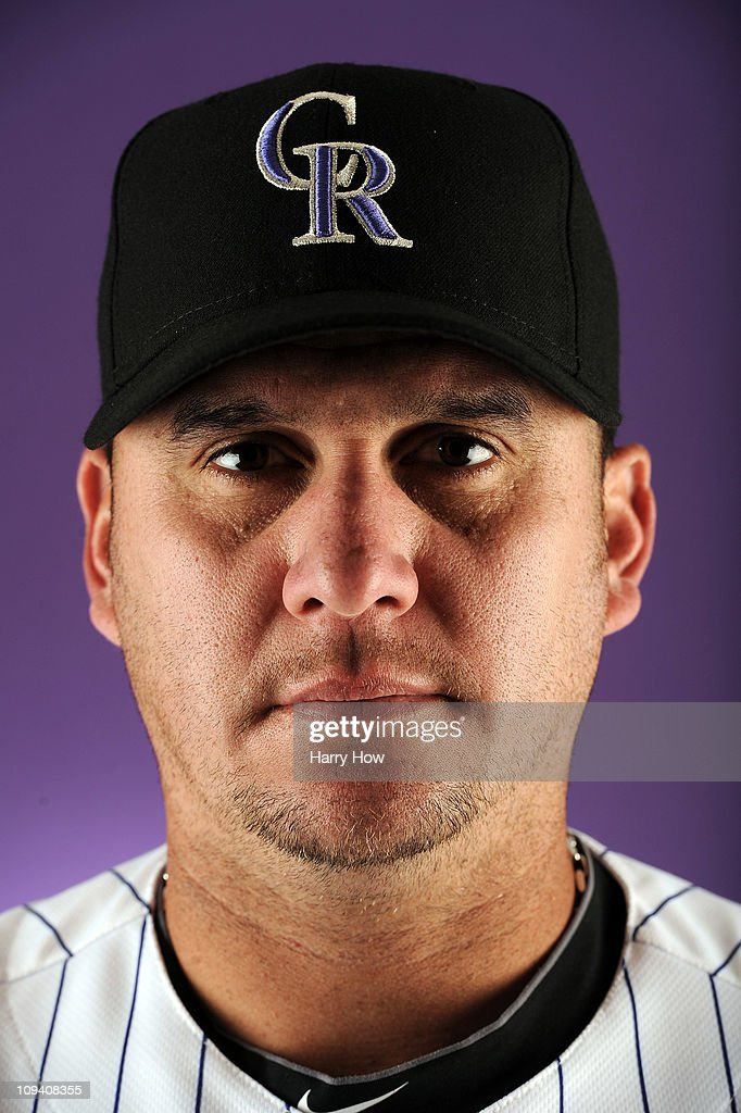 Rafael Betancourt #63 of the Colorado Rockies poses for a portrait during photo day at the Salt River Fields at Talking Stick on February 24, 2011 in Scottsdale, Arizona.