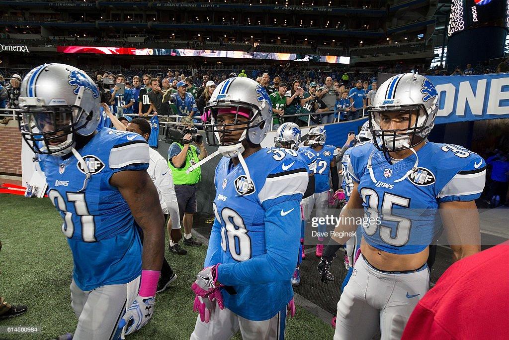 Philadelphia Eagles v Detroit Lions