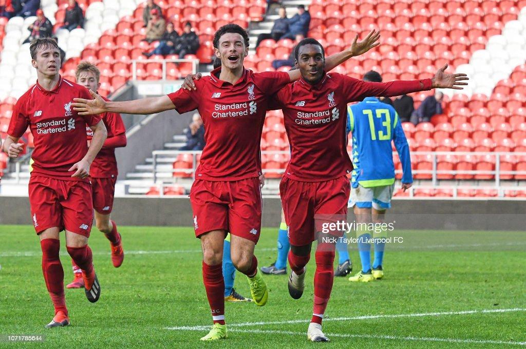 Liverpool v SSC Napoli - UEFA Youth League : News Photo