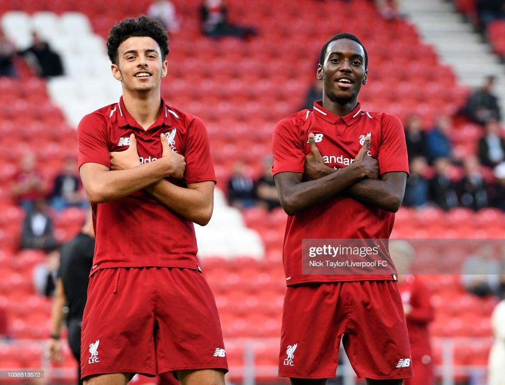 Liverpool v Paris Saint-Germain: UEFA Youth League : News Photo