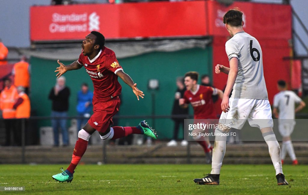Liverpool U18 v Manchester United U18