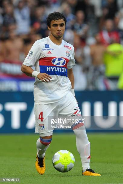 Rafael Da Silva of Lyon during the Ligue 1 match between Olympique Lyonnais and Strasbourg at Parc Olympique on August 5 2017 in Lyon