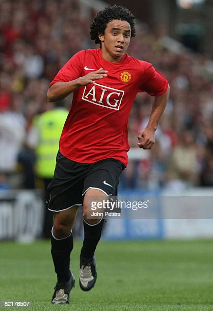 Rafael Da Silva of Manchester United in action during the pre-season friendly match between Peterborough United and Manchester United at London Road...