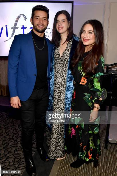 Rafael de la Fuente Sallie Patrick and Ana Brenda Contreras attend the '2018 Annual Women In Film Television Gala' at 103 West on November 10 2018 in...