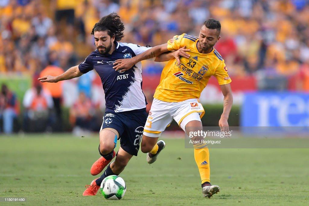 MEX: Tigres UANL v Monterrey - Playoffs Torneo Clausura 2019 Liga MX