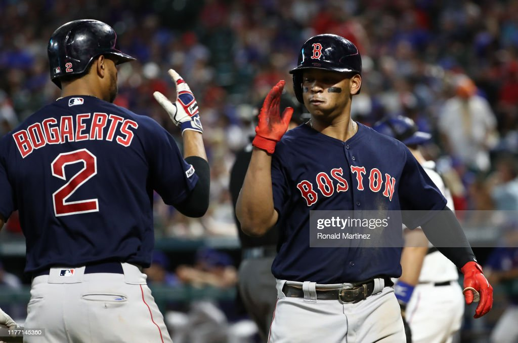Boston Red Sox v Texas Rangers : News Photo