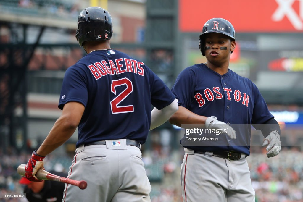 Boston Red Sox v Detroit Tigers : News Photo