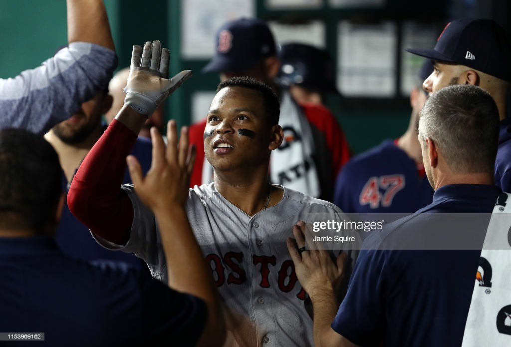 Boston Red Sox v Kansas City Royals : News Photo