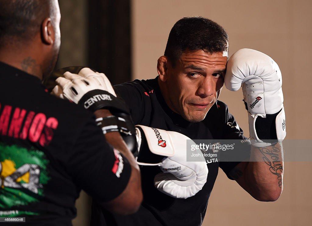 UFC 185 Open Workouts : News Photo