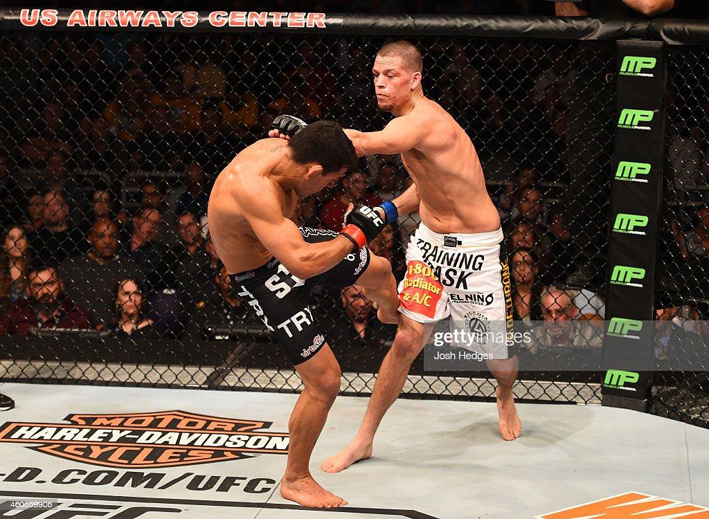 UFC Fight Night - Dos Anjos v Diaz : News Photo