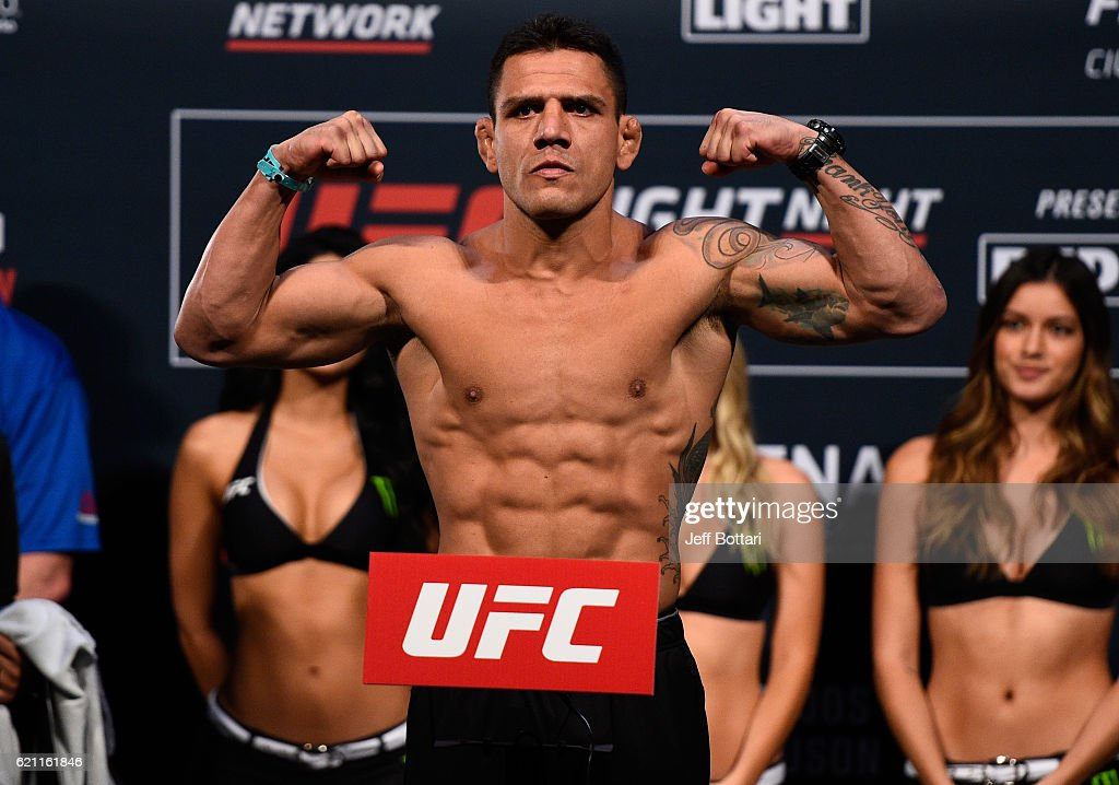 UFC Fight Night Weigh-ins