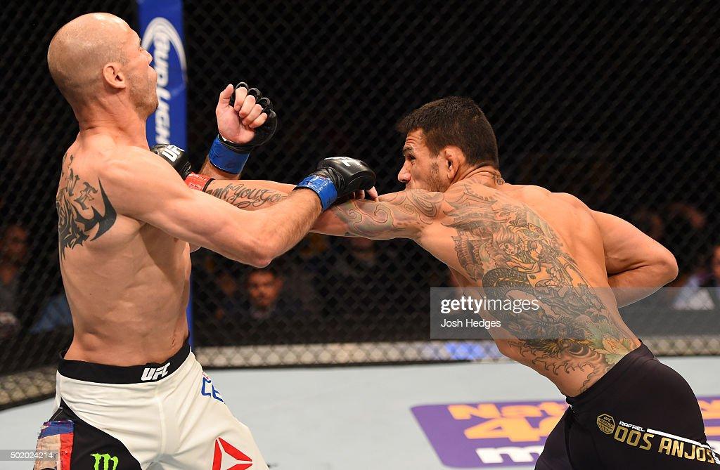 UFC Fight Night: Dos Anjos v Cerrone : News Photo