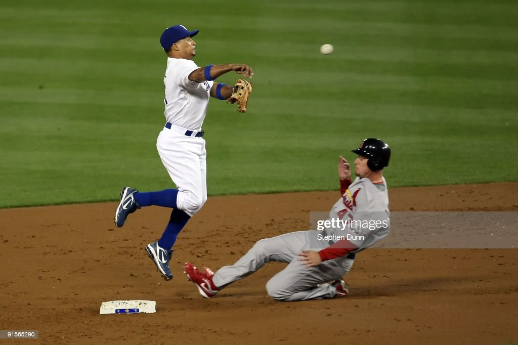 St. Louis Cardinals v Los Angeles Dodgers, Game 1