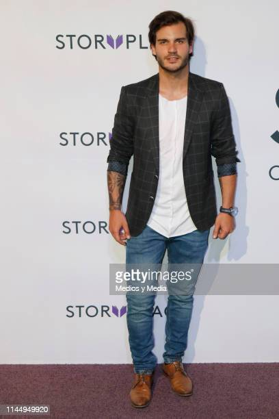 Rafael Gabeiras poses for photos during 'Story Place' App Red Carpet on April 24 2019 in Mexico City Mexico