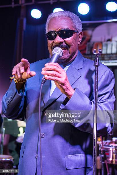Rafael Ithier Founder and Director of El Gran Combo The popular salsa group El Gran Combo de Puerto Rico performs in Toronto celebrating their 52...