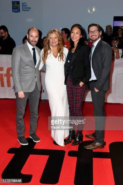 Rafael Marmor Daniela Taplin Lundberg Anita Gou and Christopher Leggett attend the Honey Boy premiere during the 2019 Toronto International Film...