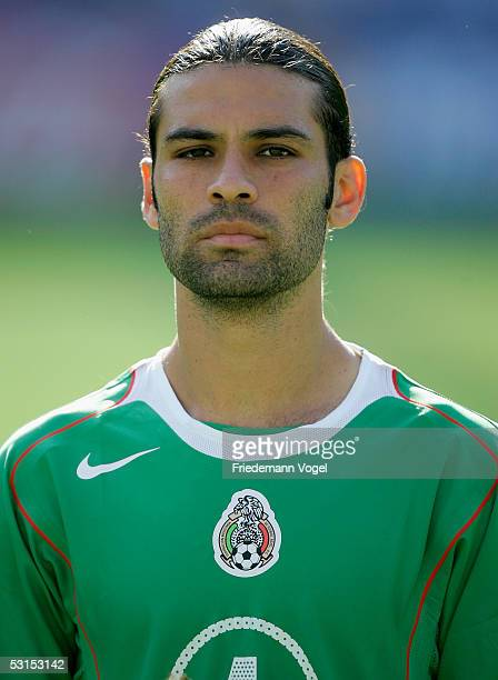 Rafael Marquez of Mexico befor the Semi Final match between Mexico and Argentina for the FIFA Confederations Cup 2005 at the AWDArena on June 26 2005...