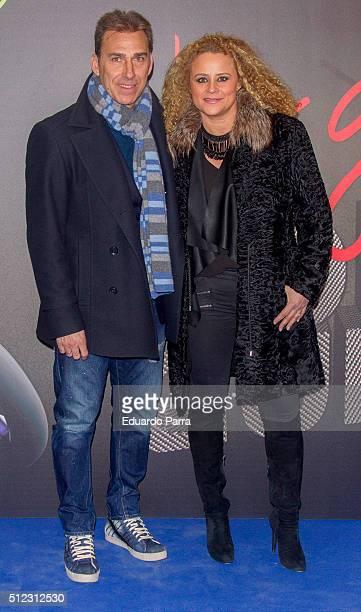 Rafael Martin Vazquez and Patricia Iglesias attends 'Lorenzo guerrero' premiere at Proyecciones cinema on February 25 2016 in Madrid Spain