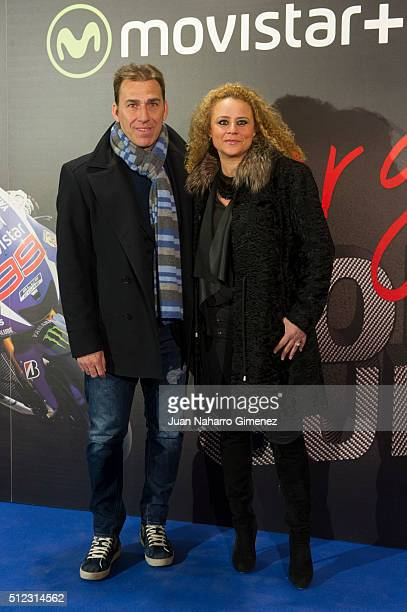 Rafael Martin Vazquez attends 'Lorenzo Guerrero' premiere at Cine Proyecciones on February 25 2016 in Madrid Spain