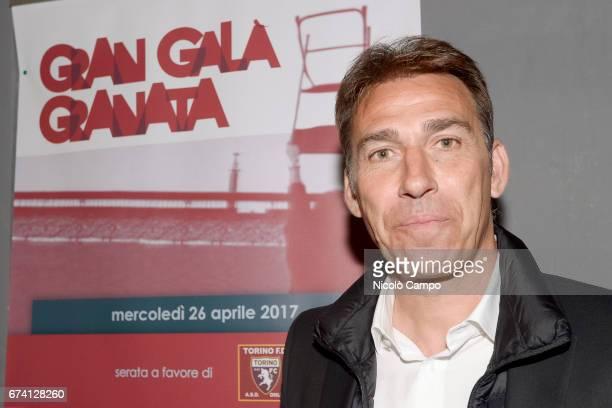 Rafael Martin Vazquez former player of Torino FC and Real Madrid CF attends the 'Gran Galà Granata' event to celebrate the 25th anniversary of the...
