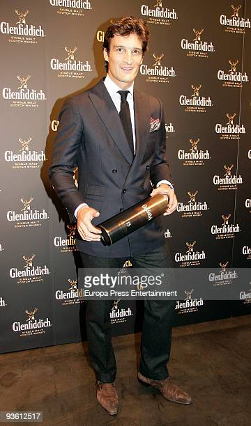 Rafael Medina Duke of Feria attends the opening of Glenfiddich shop on December 2 2009 in Madrid Spain