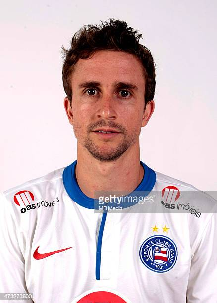 Rafael Miranda of Esporte Clube Bahia poses during a portrait session August 14 2014 in SalvadorBrazil