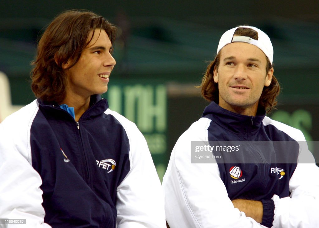 2004 Davis Cup Final - Draw Ceremony