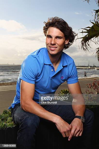 Rafael Nadal attends Bacardi Limited 'Champions Drink Responsibly' event at Encore St Kilda on January 12 2012 in Melbourne Australia