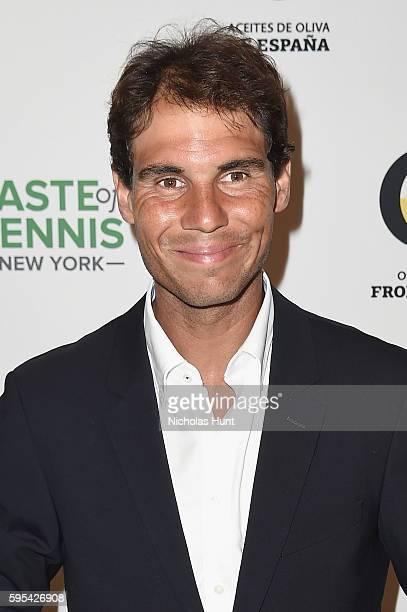 Rafael Nadal attends Taste Of Tennis New York on August 25 2016 in New York City