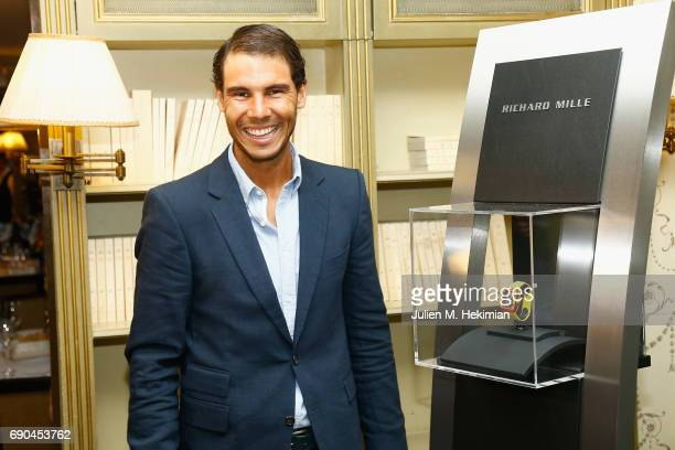 Rafael Nadal attends the Gala Dinner For the Launch Of The New Richard Mille RM at Pavillon Ledoyen on May 24, 2017 in Paris, France.