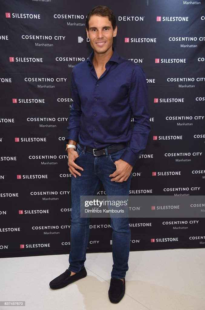 Tennis Star Rafael Nadal Co-Hosts Exclusive Cocktail Event With Cosentino